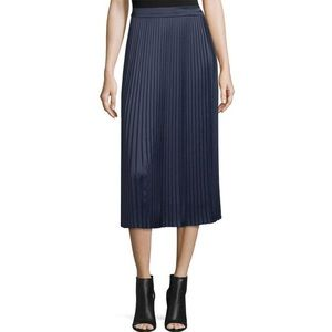 Elizabeth and James Lucy Pleated Skirt in Royal